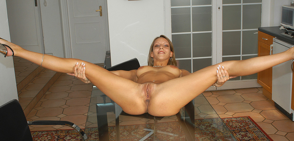 Flexible gal puts it to some good use